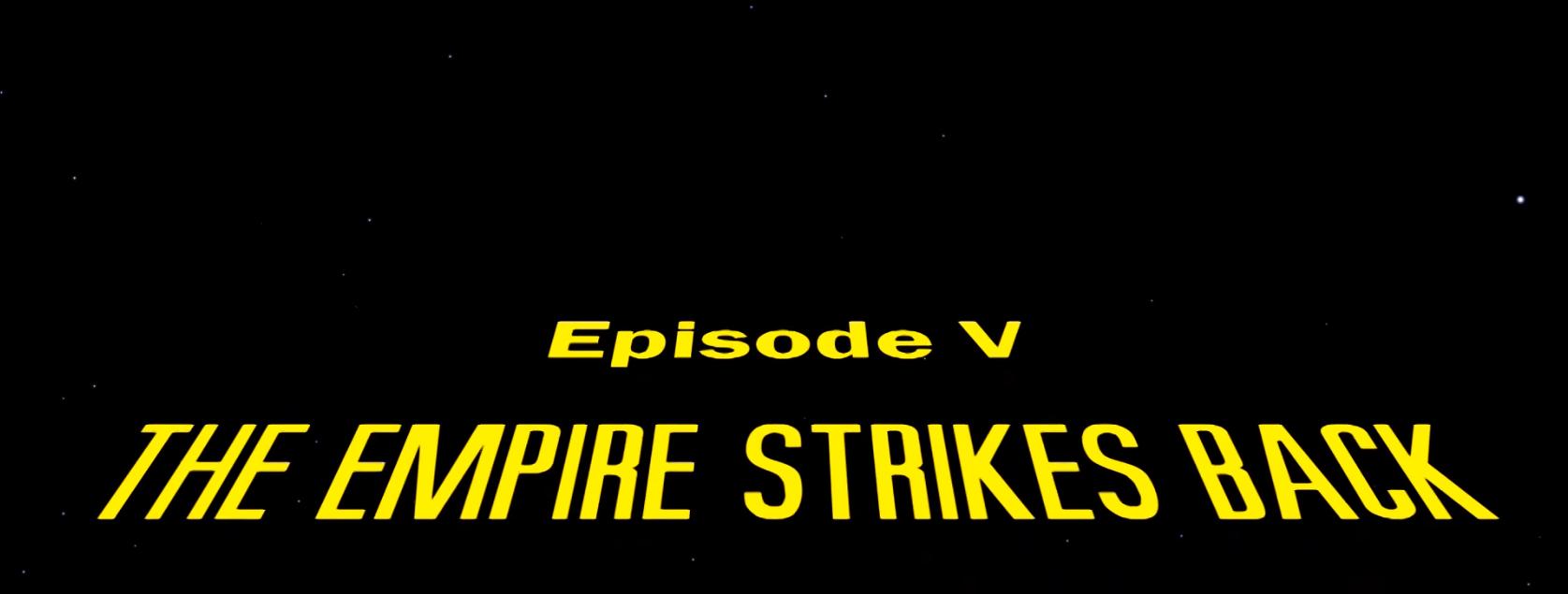 Gwiezdne Wojny - Imperium Kontratakuje (wstęp do filmu)