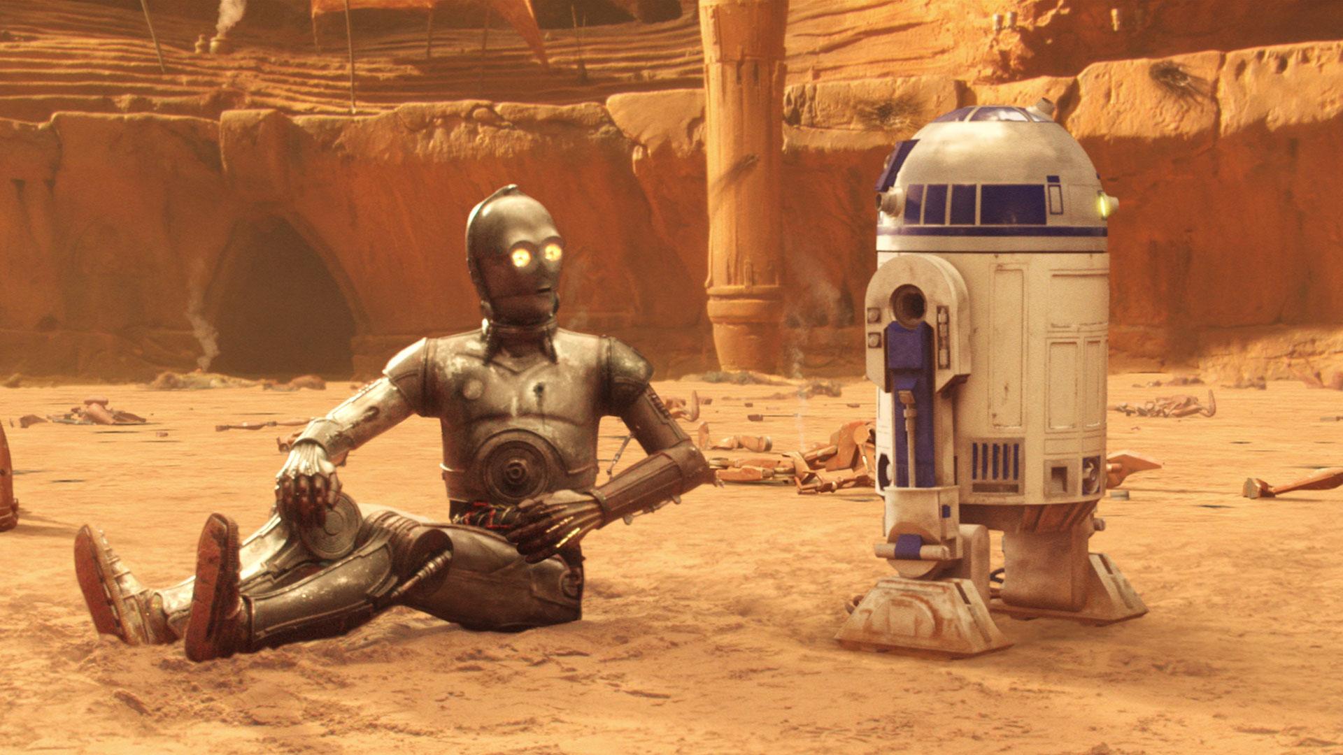 Maskotka Star Wars (C3-PO, R2-D2)