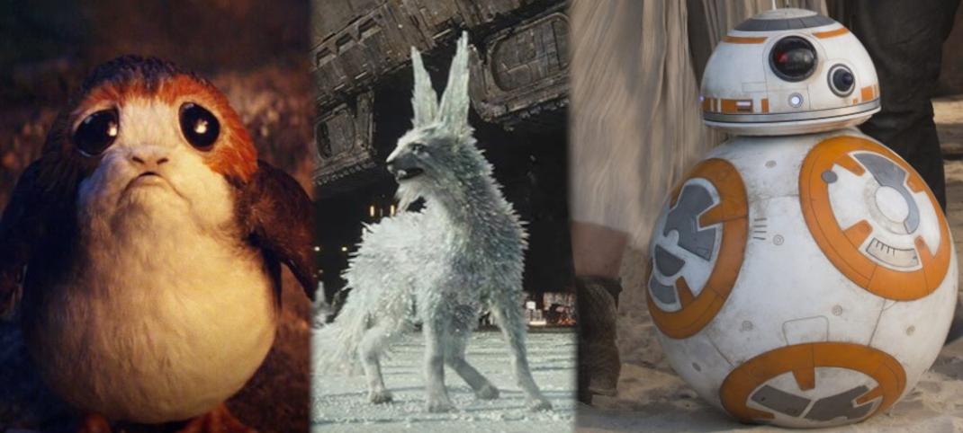 Maskotka Star Wars (Porg, Vulptex, BB-8)