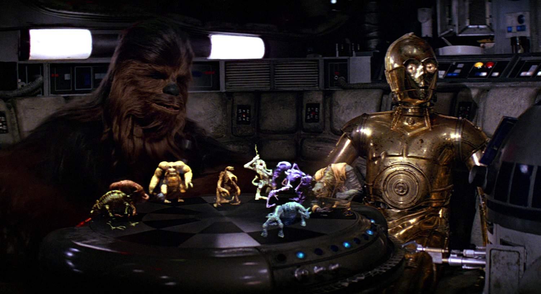 wirtualna szachownica, Star Wars 1977)