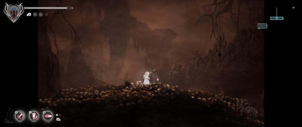Katakumby w Ender Lilies